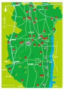 おおぶ・ひがしうら街道 神社MAP